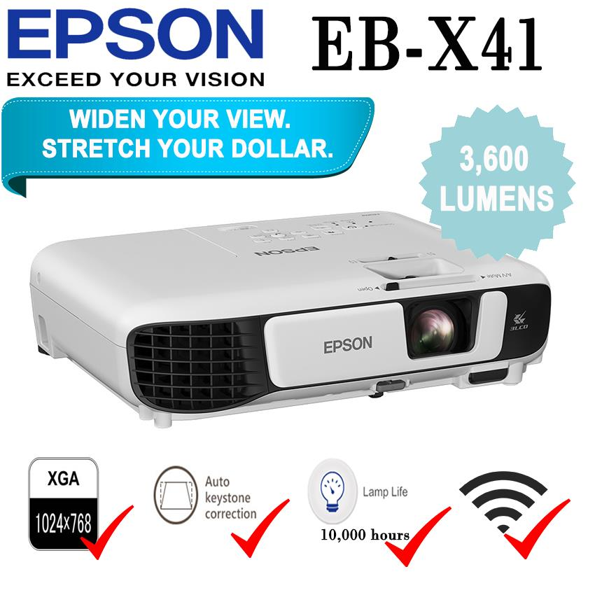 epson x41 projector