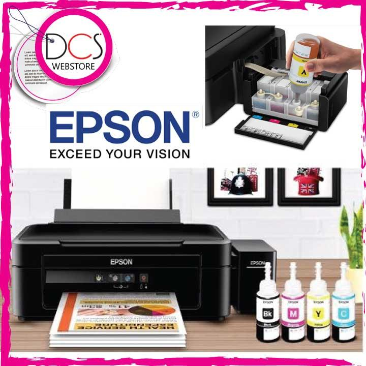 Epson L220 Multi-Function Printer with integrated ORIGINAL Ink Tanks