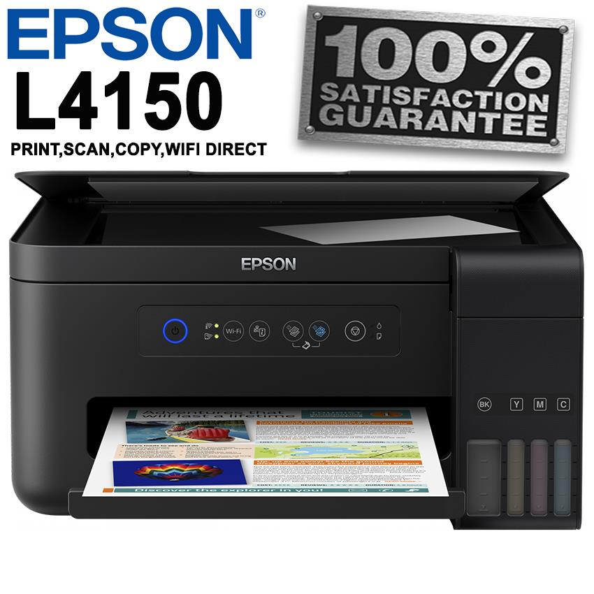 Epson L4150 Wi-Fi All-in-One Ink T (end 12/23/2018 10:15 AM