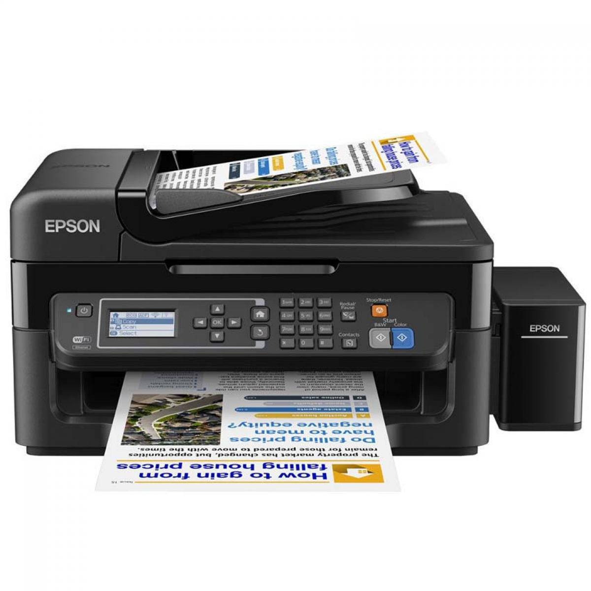 how to connect my printer epson to my wireless computer
