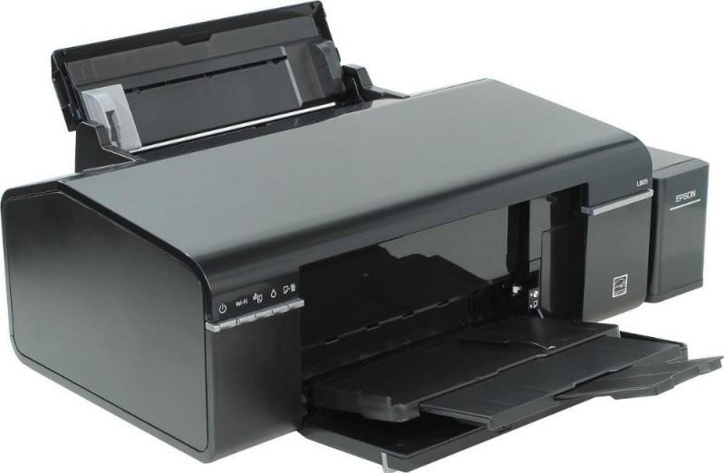 Epson L805 6 color print, CD / DVD printing, Wi-Fi, Epson iPrint, Prin
