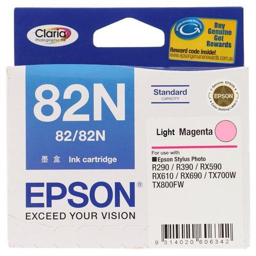 EPSON LIGHT MAGENTA INK CARTRIDGE, 82N