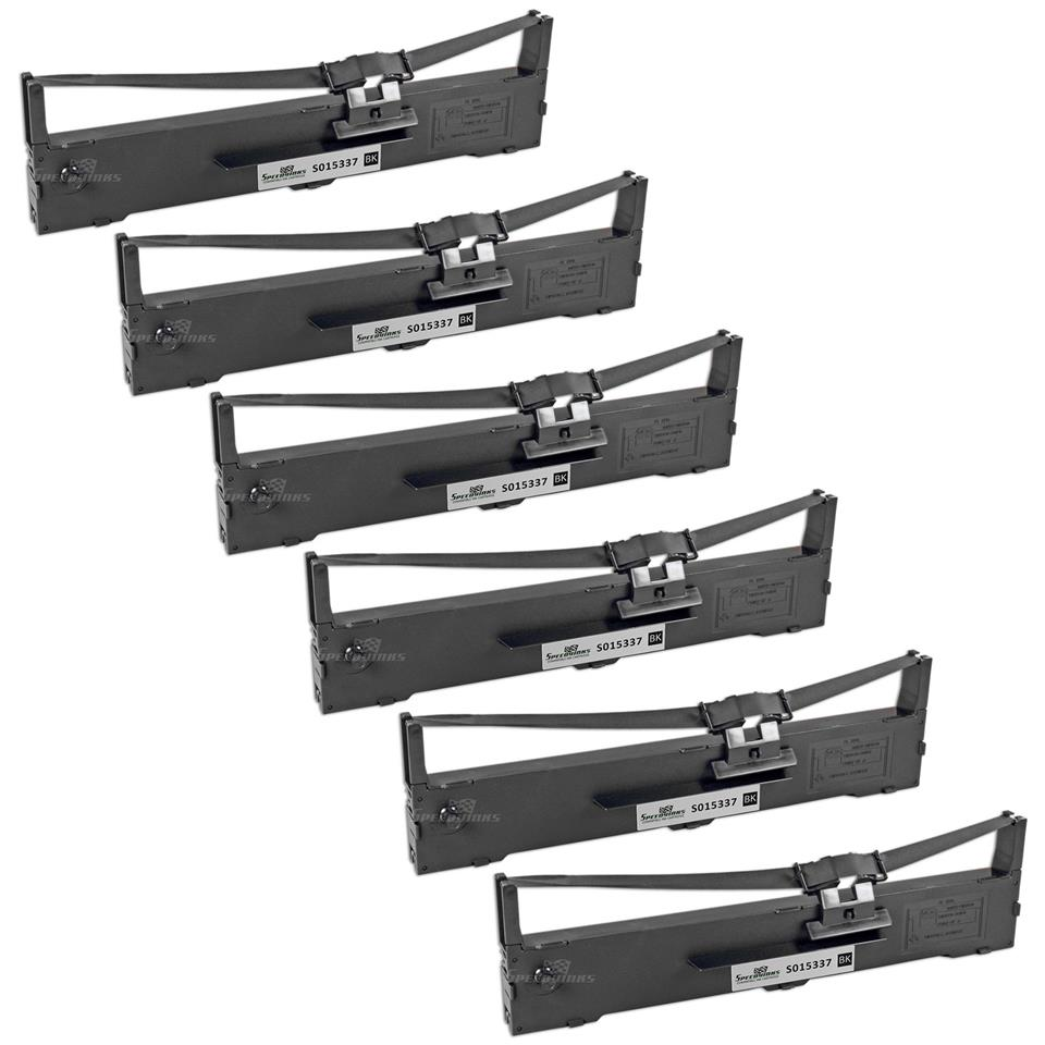 EPSON LQ 590 PRINTER RIBBON CARTRIDGE COMPATIBLE* ( 6 UNITS PER PACK )