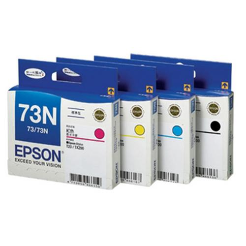 Epson SET Ink Cartridge, 73N, CMYK
