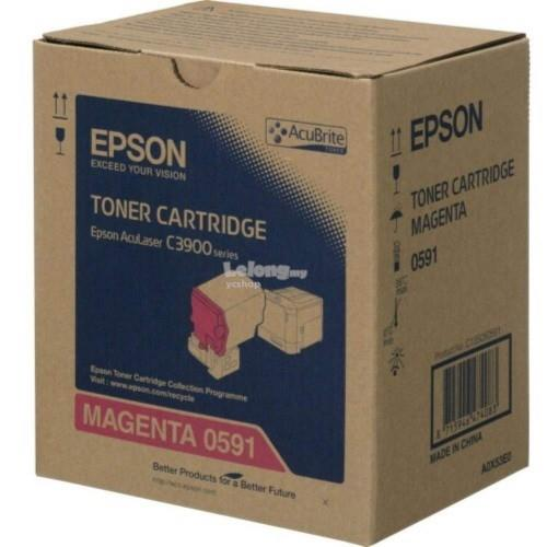 Epson SO50591 Magenta Toner Cartridge (SO50591)