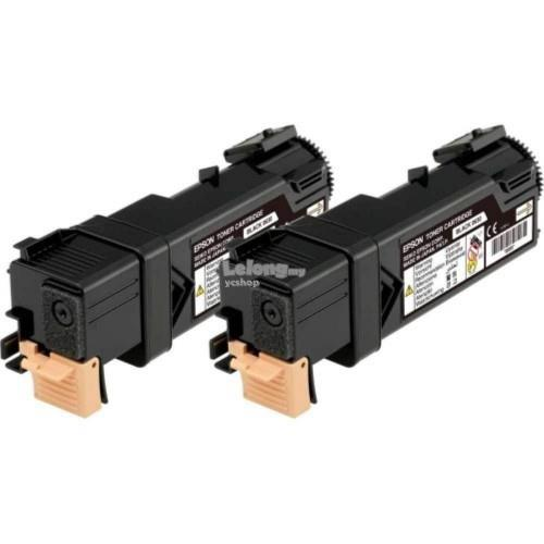 Epson SO50631 Double Cap Black Toner Cartridge (SO50631)