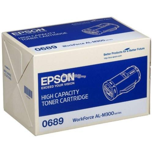 Epson SO50689 High Cap Toner Cartridge - Black (SO50689)