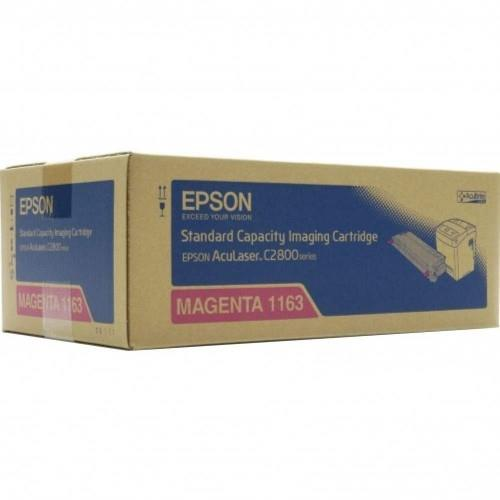 Epson SO51163 Standard Cap Magenta Toner (SO51163)