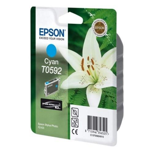 Epson T0592 Stylus photo Ink Cartridge Cyan (T059290)