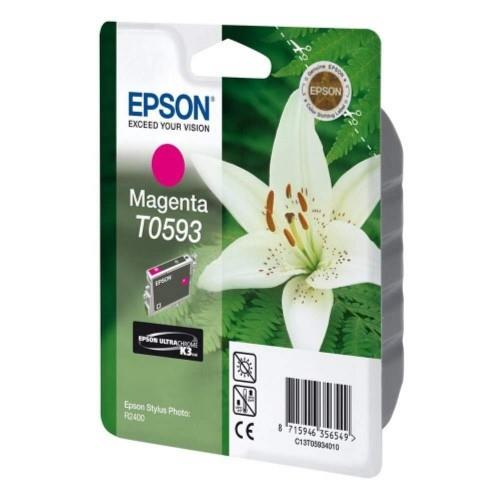 Epson T0593 Stylus photo Ink Cartridge- Magenta (Item No:EPS T059390)
