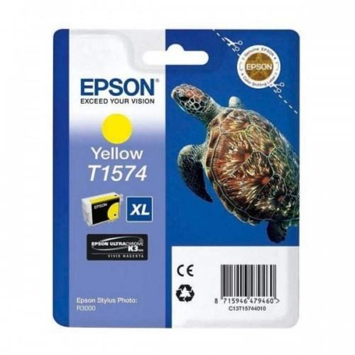 Epson T1574 Ink Cartridge - Yellow (T157490)