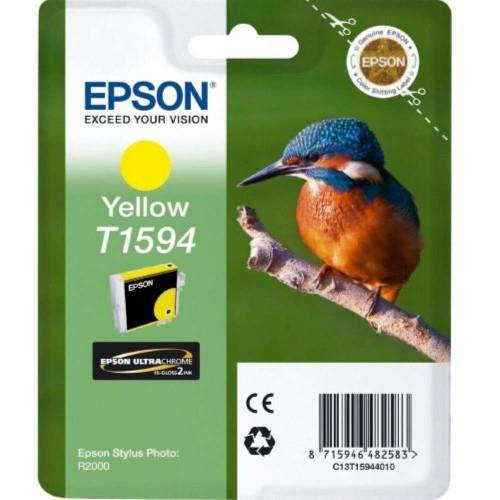 Epson T1594 Ink Cartridge - Yellow (T159490)