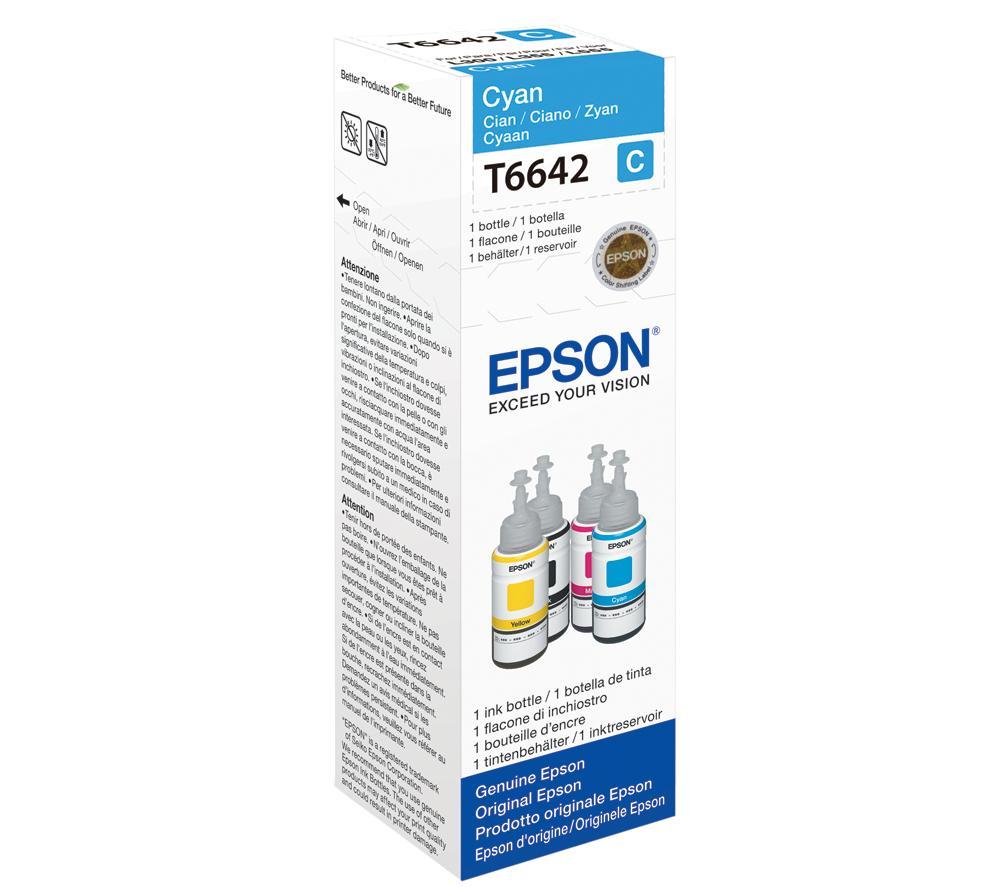 Epson T6642 (Cyan) L110, L120 L200 L210 L300 L350 L355 L550 L555 L1300