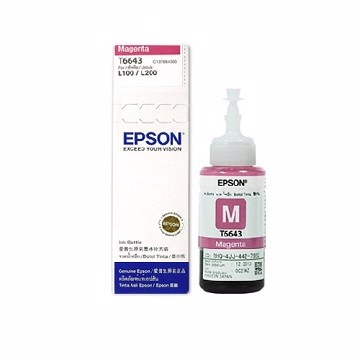 EPSON T6643 MAGENTA REFILL INK CARTRIDGE (C13T664300)
