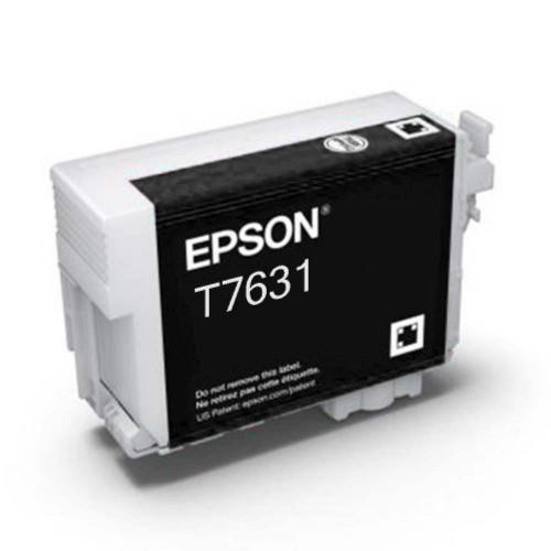 Epson T7631 Ink Cartridge - Photo Black (T763100)