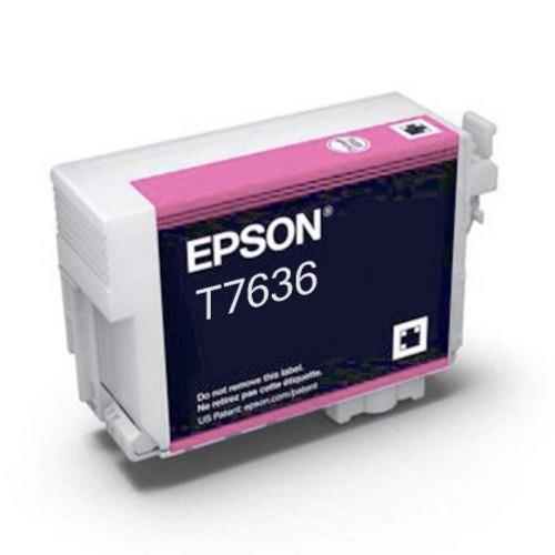 Epson T7636 Ink Cartridge - Vivid Light Magenta (T763600)