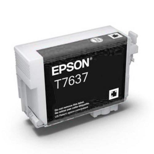 Epson T7637 Ink Cartridge - Light Black (T763700)