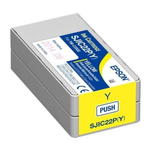 Epson TM-C3510 SJIC23P Ink Cartridge Yellow (SJIC23P Y)