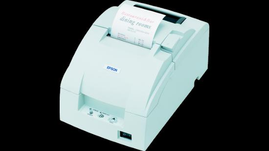 Epson TM-U220B Dot Matrix Rceipt Printer with Auto Cutter