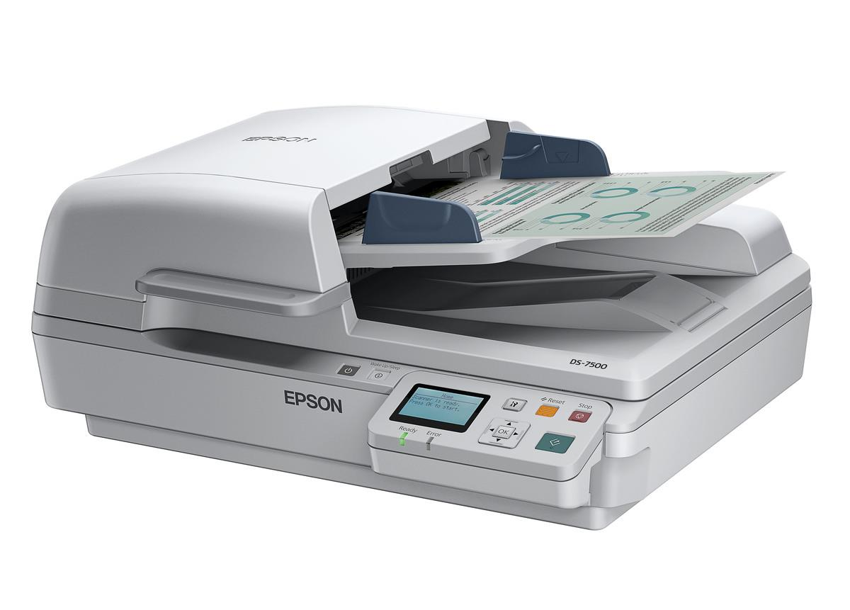 Epson WorkForce DS-7500 Flatbed Document Scanner (B11B205341)