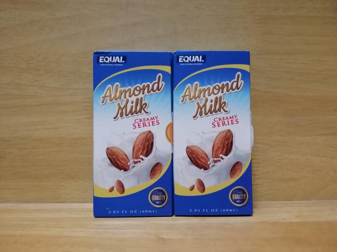 Equal Almond Milk Creamy Series(6MG & 12MG@60ML)E Liquid Vape Juice. ‹ ›