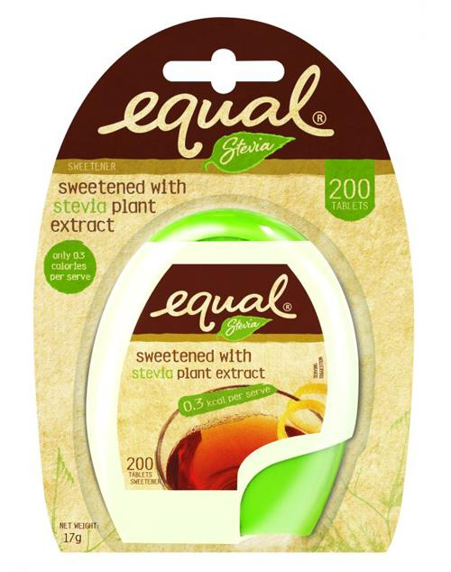 Equal Stevia Sweetened (200's)