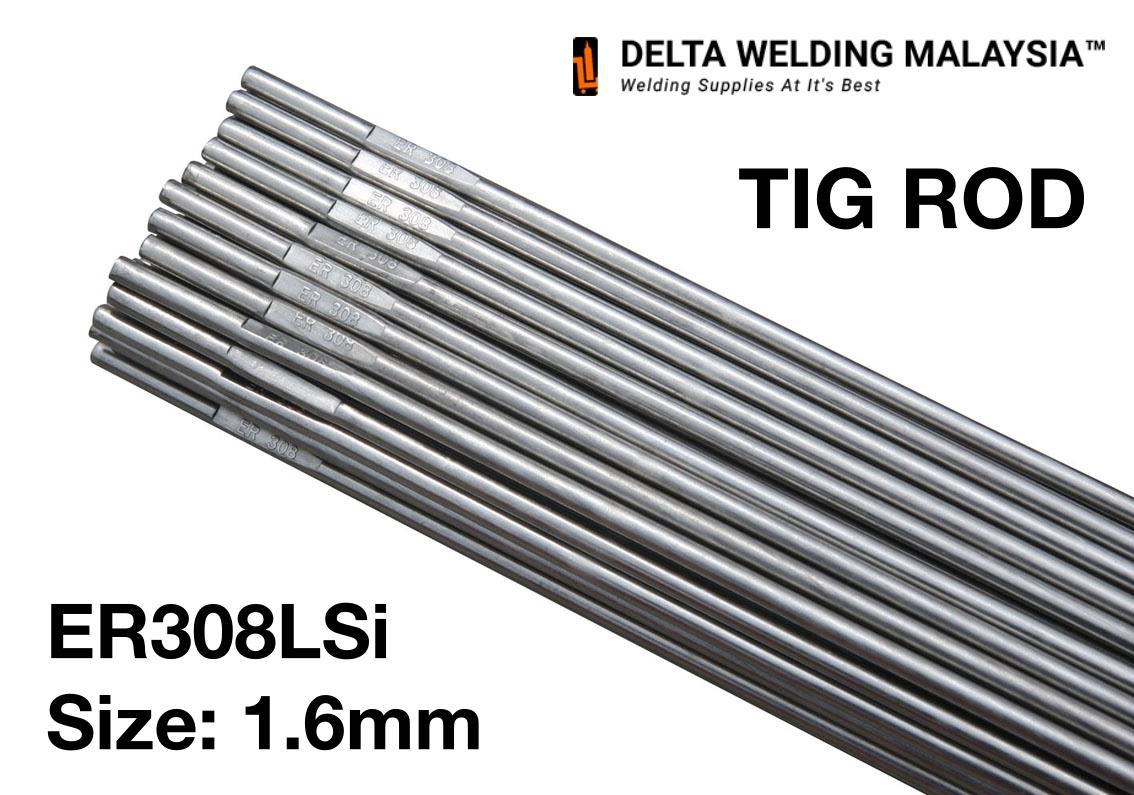 1.6mm 308L Tig Filler Wire x 30