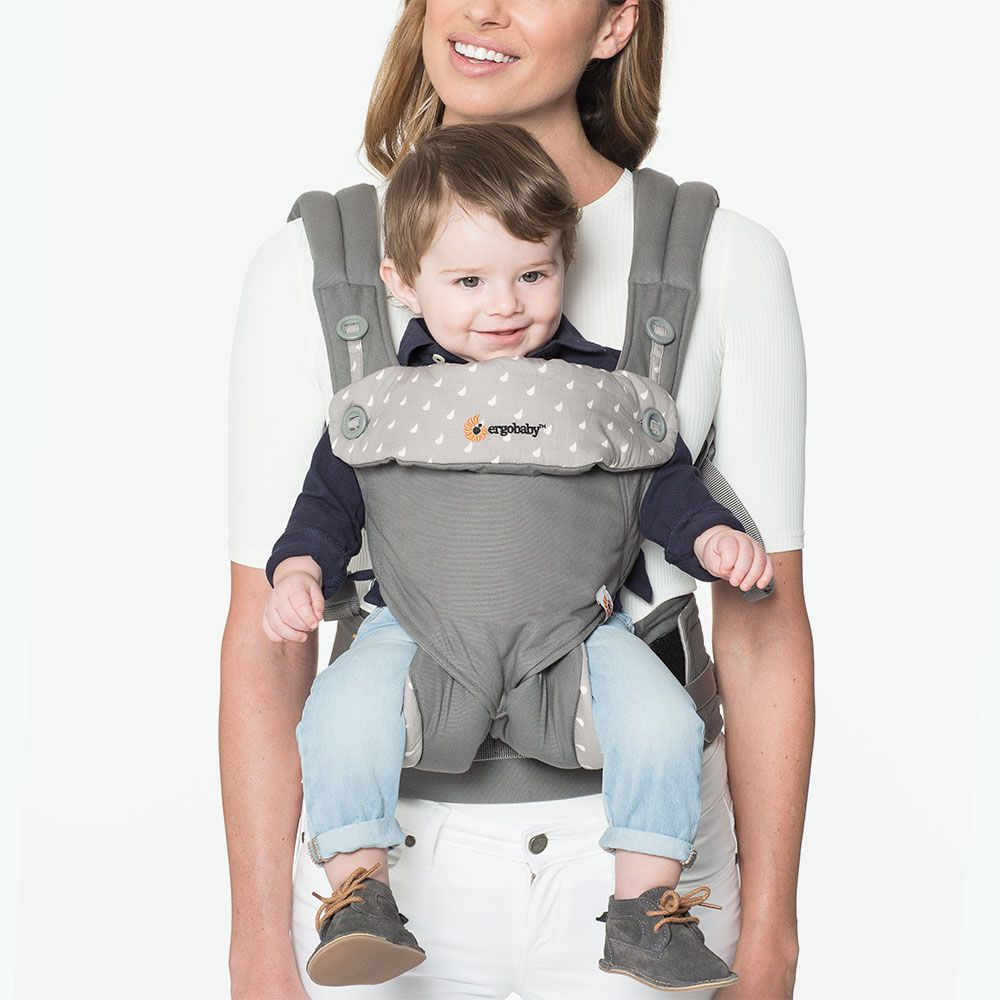 Ergo baby carrier instructions back
