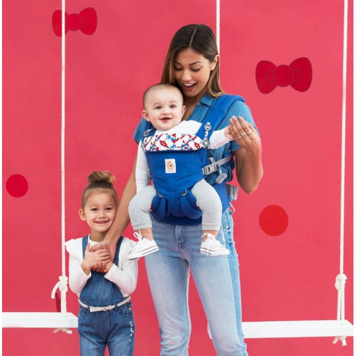 e827abb1143 ErgoBaby Omni 360 Baby Carrier All-In-One Limited Edition Hello Kitty