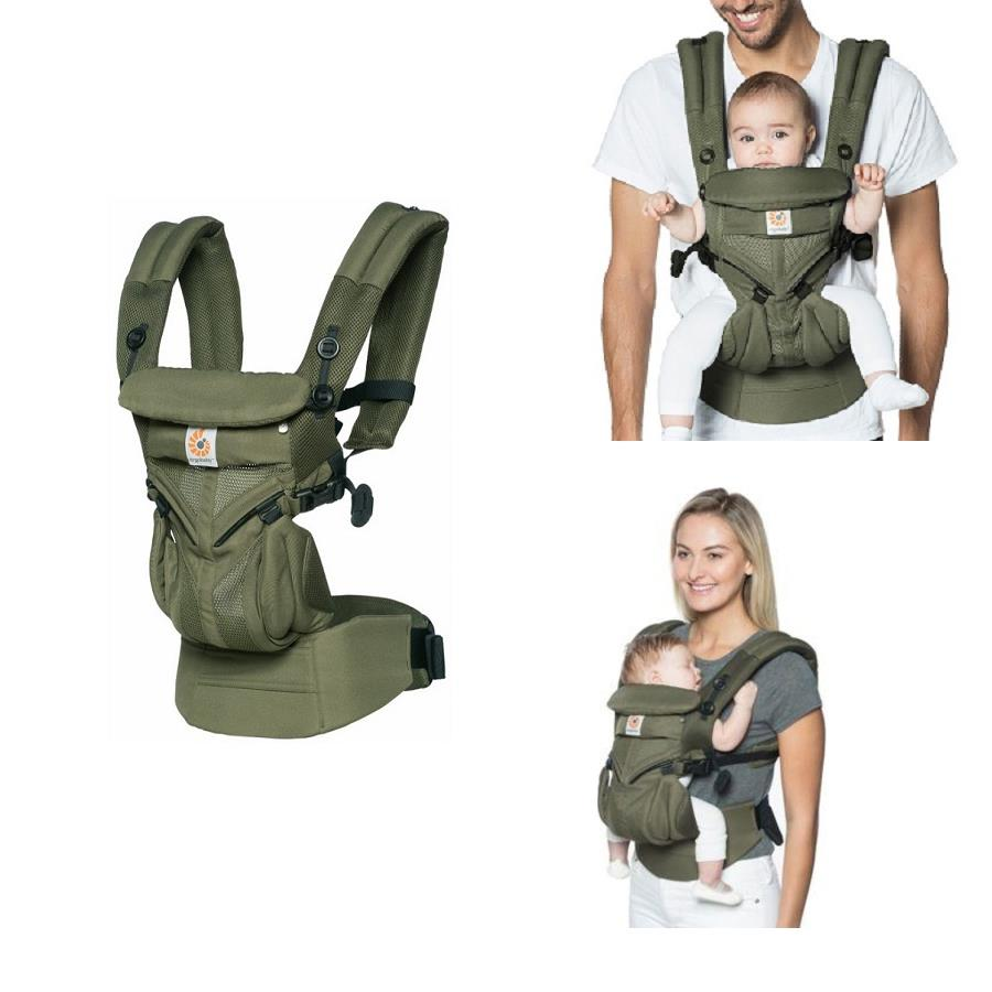 Ergobaby Omni 360 Carrier Cool Air Mesh Khaki Green