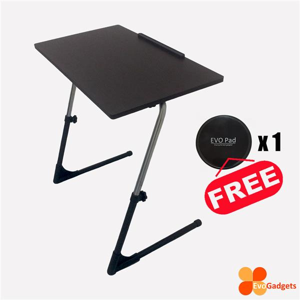 Ergonomic Adjustable Table (Folding, Portable, Computer, Laptop)