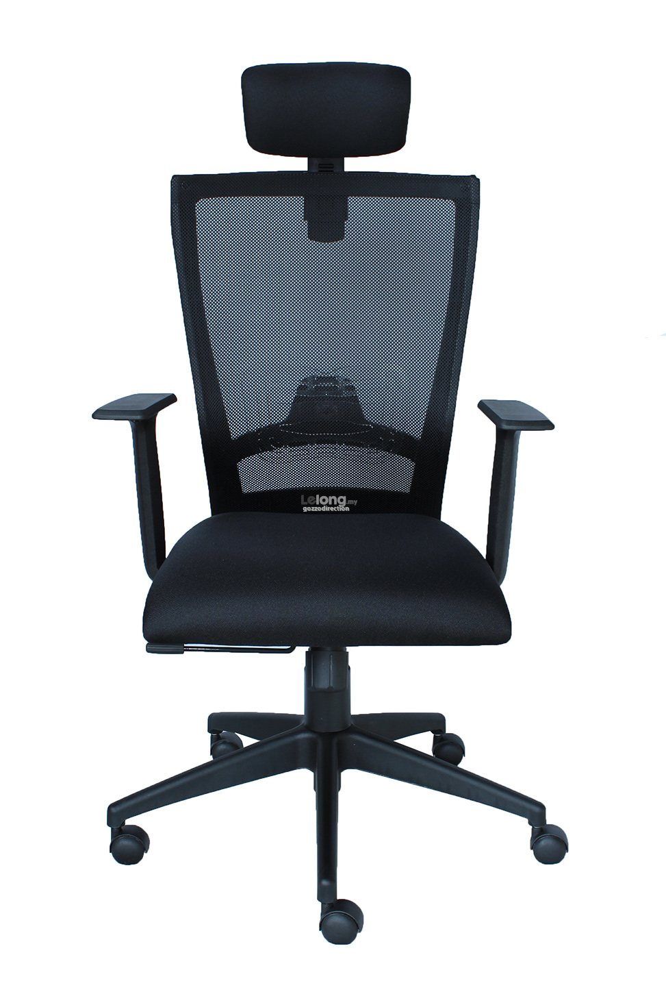 Ergonomic Mid Back Mesh Chair with Headrest