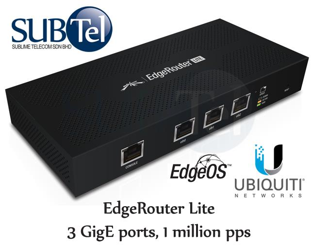 Ubiquiti EdgeRouter ERLite-3 Router Driver for Windows 7