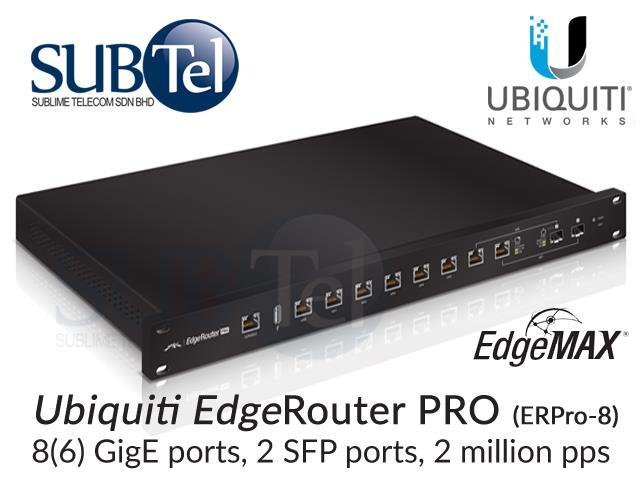 New Drivers: Ubiquiti EdgeRouter ERPro-8 Router
