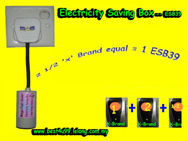 ESB Energy Saver Save 30%$ bill 100%Legal Malaysia room house office shop lot
