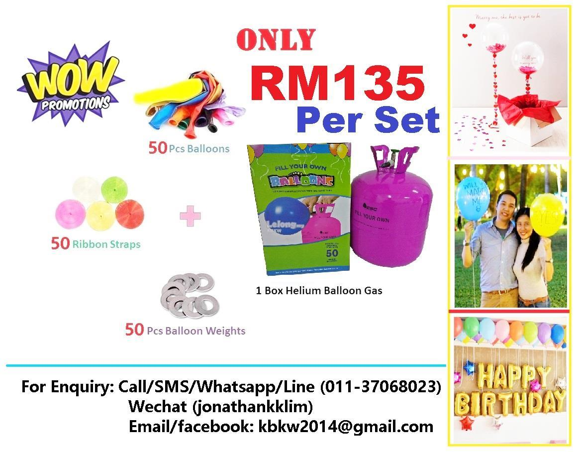 ESC Helium Gas Balloon Gas Package Promotion! (22.4L Big Capacity)