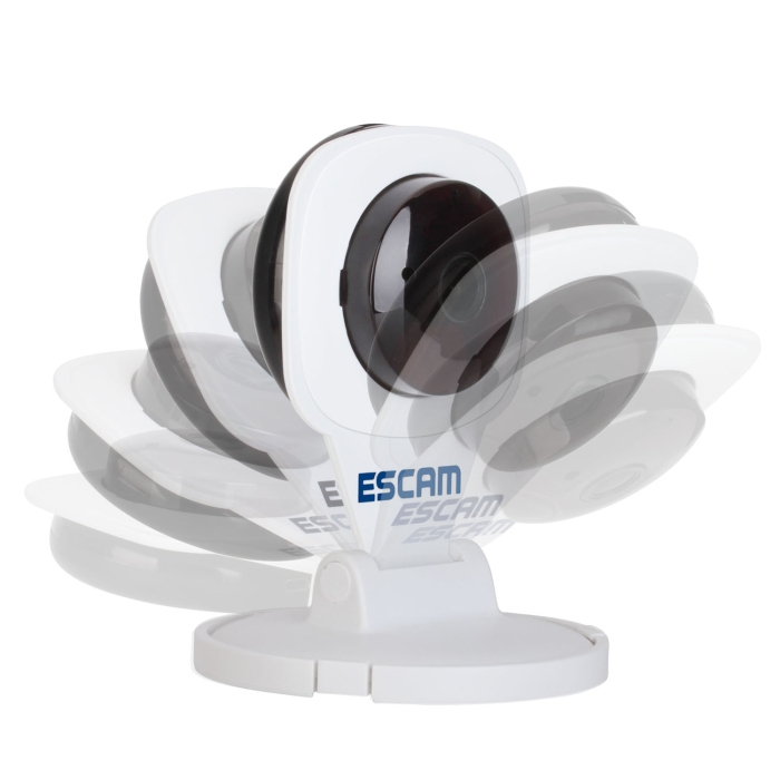 ESCAM DIAMOND QF506 WIFI H.264 1.0MP P2P IP CAMERA CLOUD TECHNOLOGY SU..
