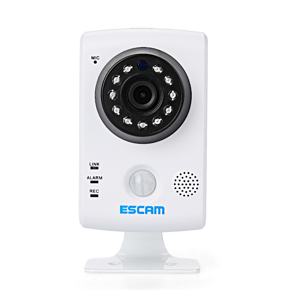 ESCAM QF502 P2P HD WIFI IP CAM IR CUT NIGHT VISION SUPPORT TWO WAY AUD..