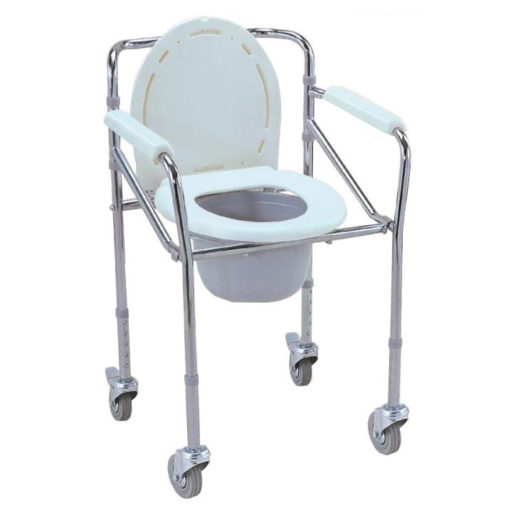ESCO MOBILE SHOWER COMMODE CHAIR (WIT (end 1/5/2020 8:38 AM)