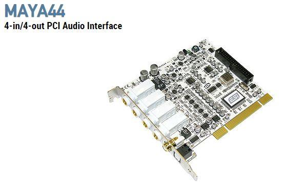 ESI MAYA44 4IN 4OUT PCI AUDIO INTERFACE