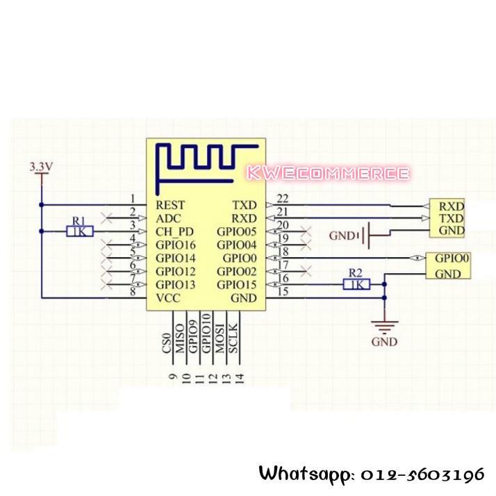 ESP-12F ESP12F ESP8266 WIFI Module Board