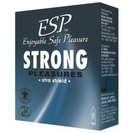 ESP (Enjoyable Safe Pleasure) Condom - Strong Pleasures 3's