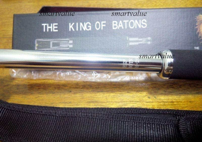 ESP King Of Batons Stainless Steel YRG Collapsible 26 inch Baton