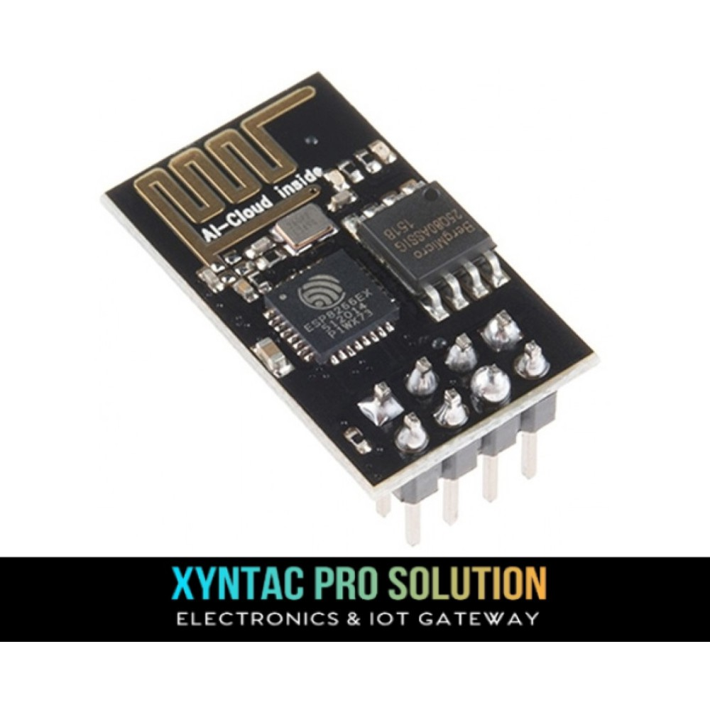 ESP8266 ESP-01 WIFI Serial Module 1MB Flash ESP01 for Arduino IOT