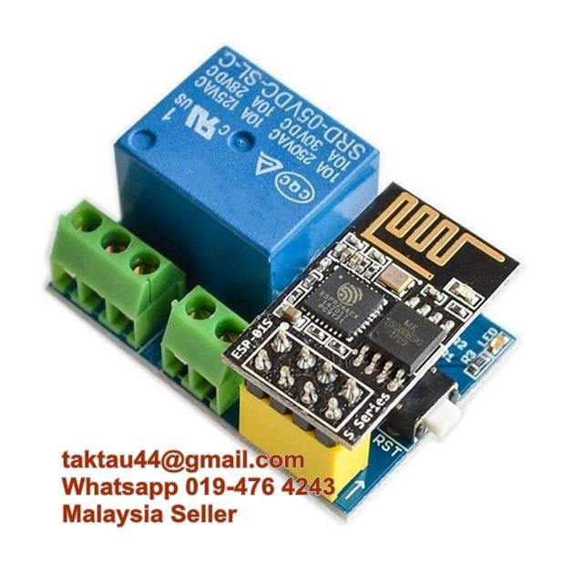 ESP8266 ESP-01S 5V WiFi Relay Module Things Smart Home Remote Control