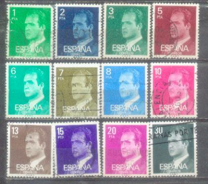 Espana 12 Nice Stamps Lot 3