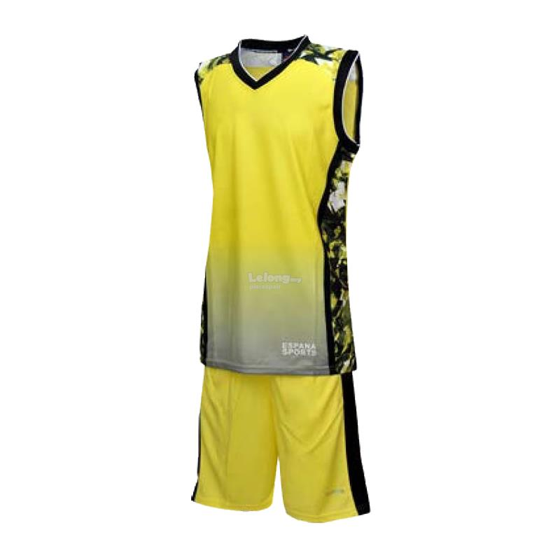 Espana Junior Sublimation Basketball Jersey & Shorts ESP7048J