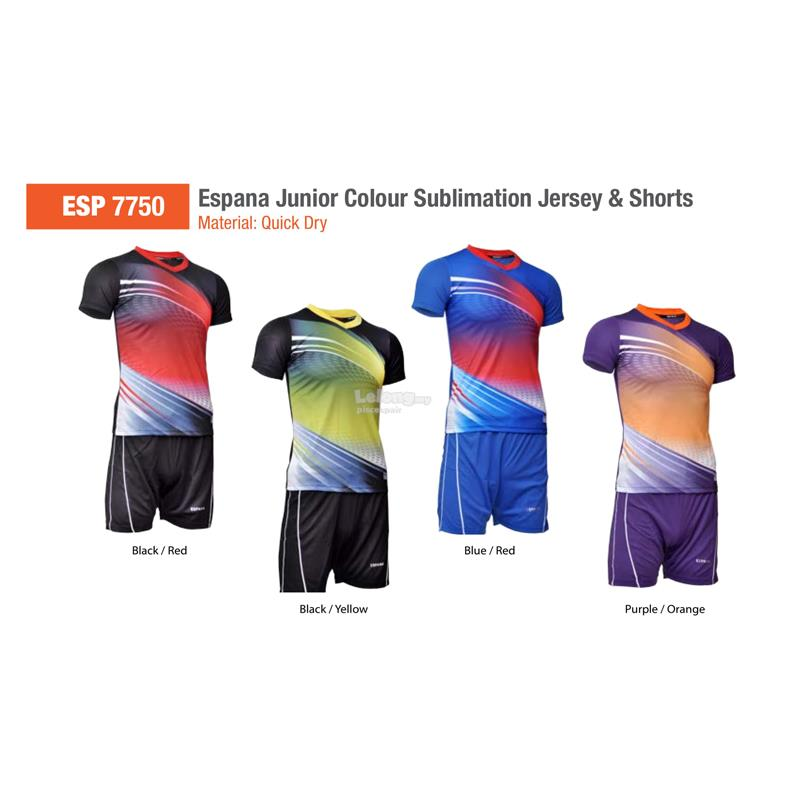 Espana Junior Sublimation Jersey & Shorts ESP7750
