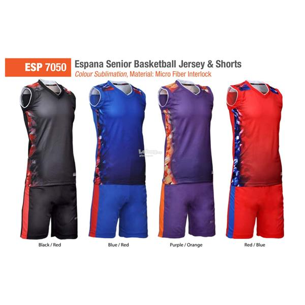 Espana Senior Sublimation Basketball Jersey & Shorts ESP7050