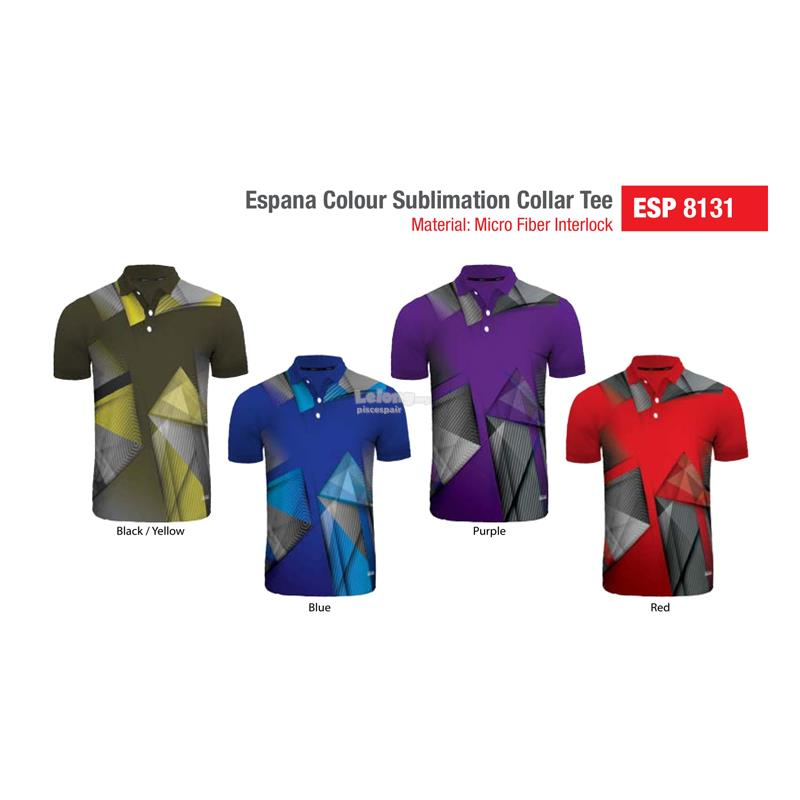 Espana Sublimation Polo Sport Tee ESP8131